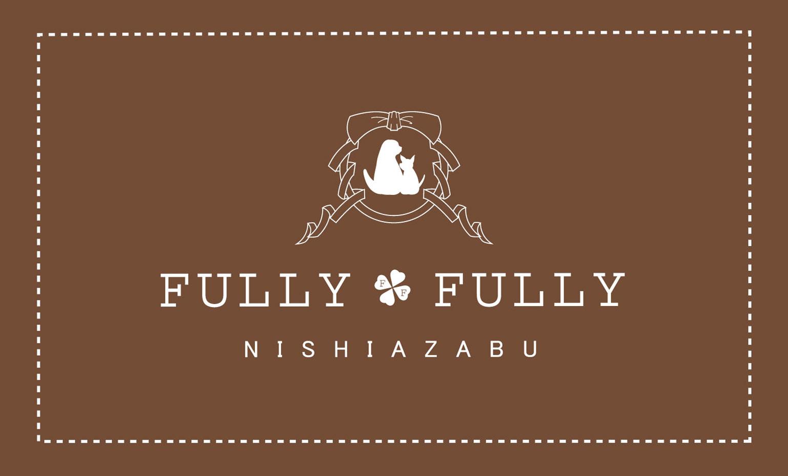 FULLY FULLY ロゴ(青)