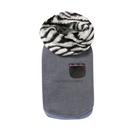 Louisdog Safari Shirts Zebra(サファリ シャツ ゼブラ)