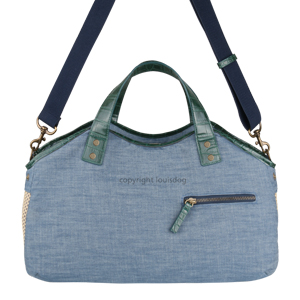 Louisdog Tote Bag / Denim